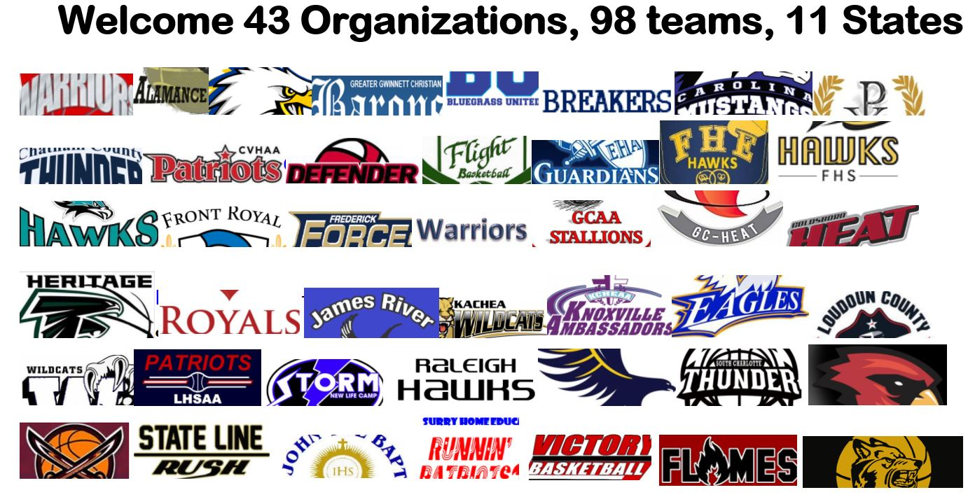 Welcoming 42 Homeschool Sports Organizations to the 2018 East Coast Homeschool Nationals