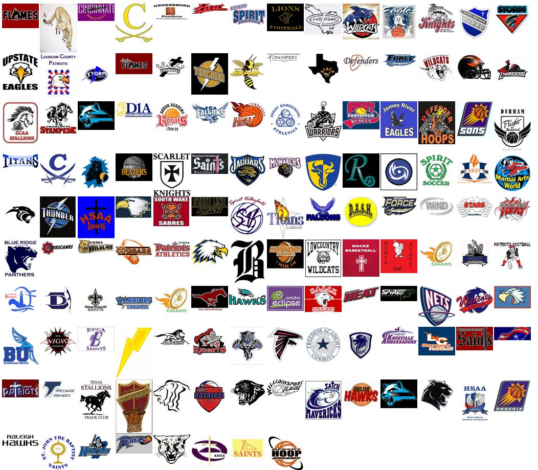You should add your homeschool sports team logo to our FAMOUS LOGO WALL