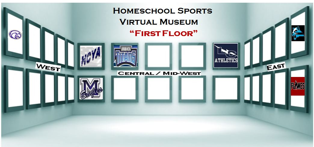 Show your Trophy Case and Hall of Fame in the new Virtual Homeschool Sports Museum