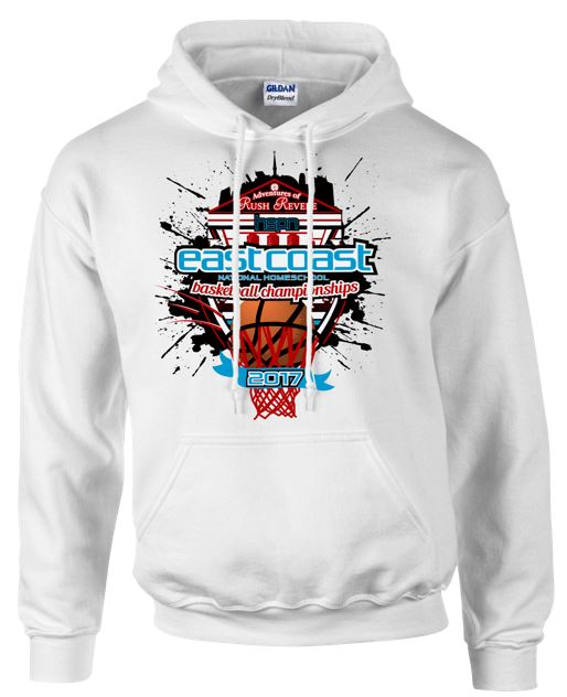 Hoodie for the 2017 Tournament (front)