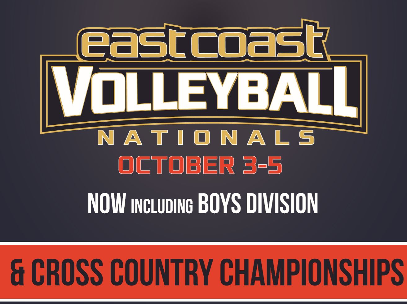 The official website of the East Coast Nationals Homeschool Championships, Volleyball is coming in October!