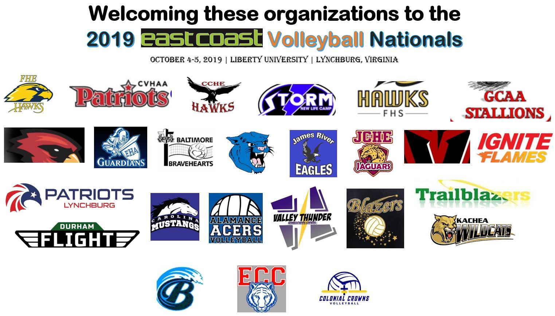 Welcoming homeschool organizations to the 2019 East Coast Homeschool Volleyball Nationals