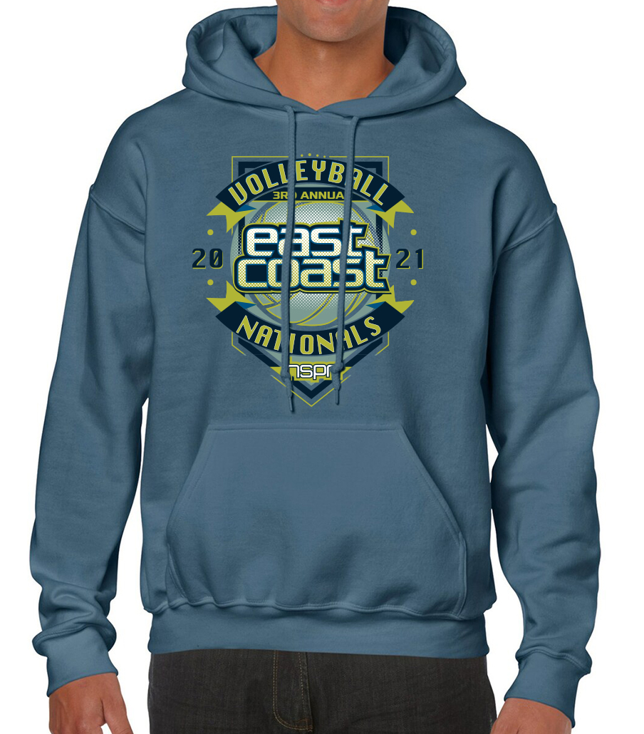 HOODIE for the 2021 Tournament (front)